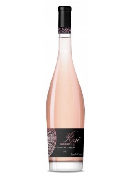 Rượu vang pháp Ombre IGP Collines DE LA Moure Rose 750ml