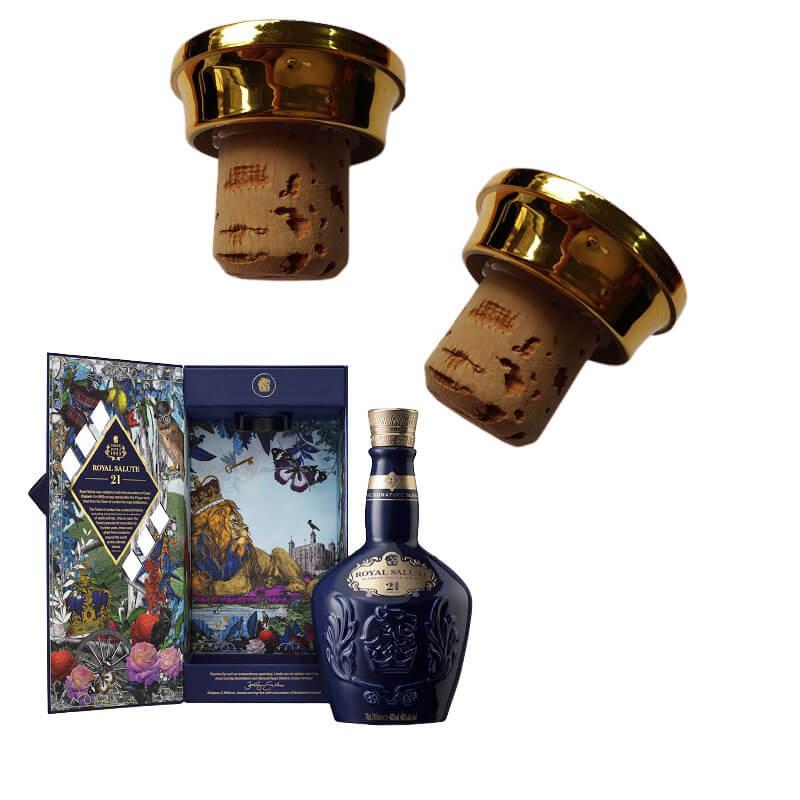 Cách mở nắp chai rượu Chivas 21