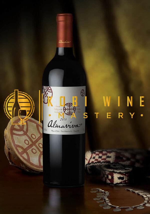 Chai rượu vang Almaviva