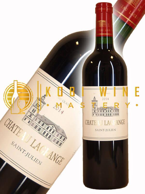 Chai vang ngon nhất thế giới Château Lagrange