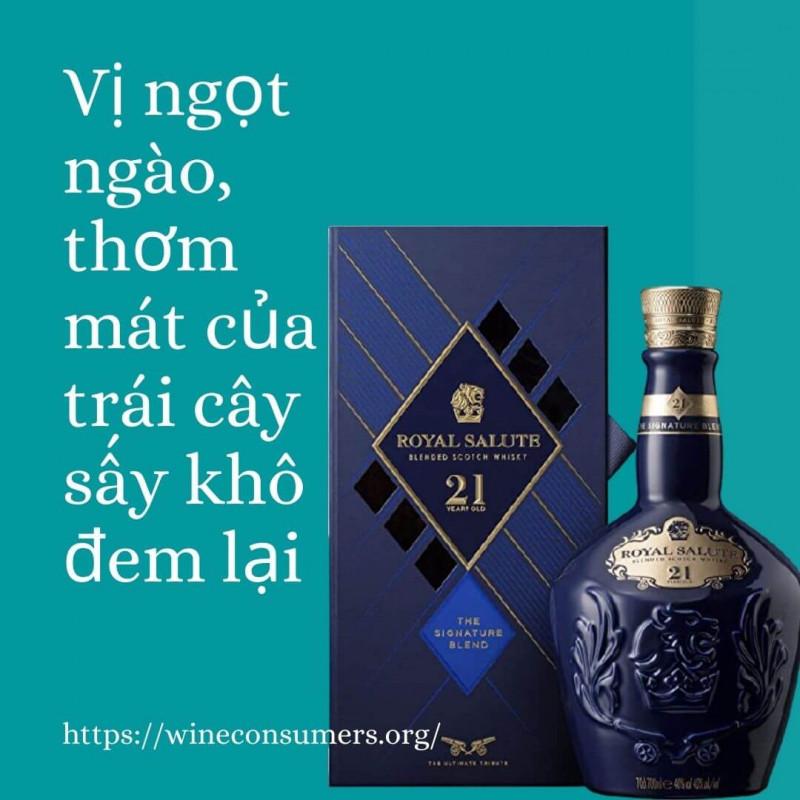 Đặc trưng của rượu Chivas 25