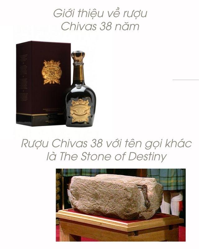 Giới thiệu về rượu Chivas 38 năm
