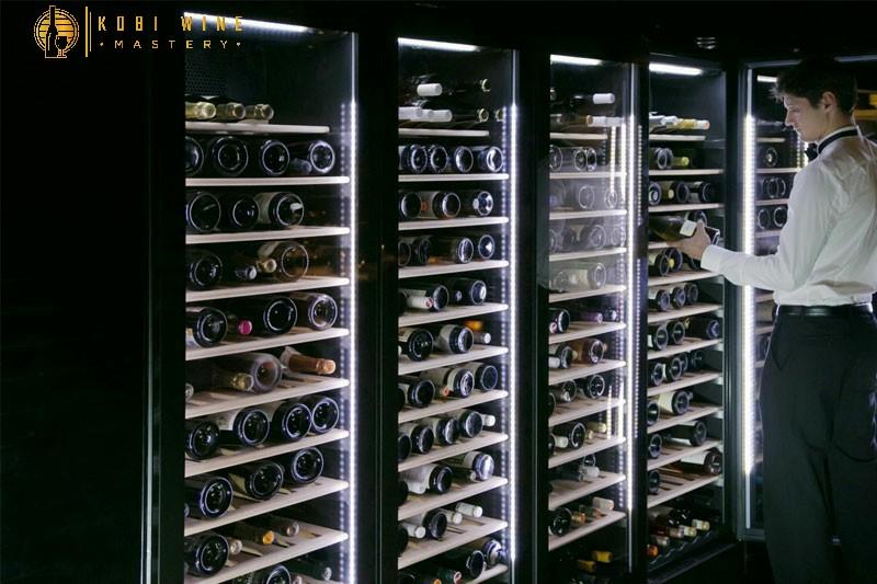 Giữ rượu vang ở nhiệt độ thích hợp
