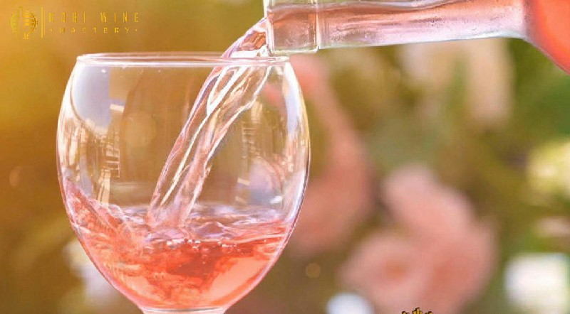 Nguyên tắc khi dùng vang hồng