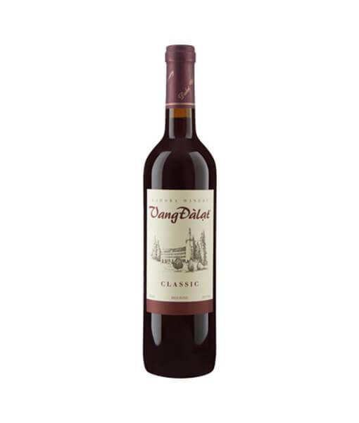 Rượu vang Đà Lạt Classic đỏ