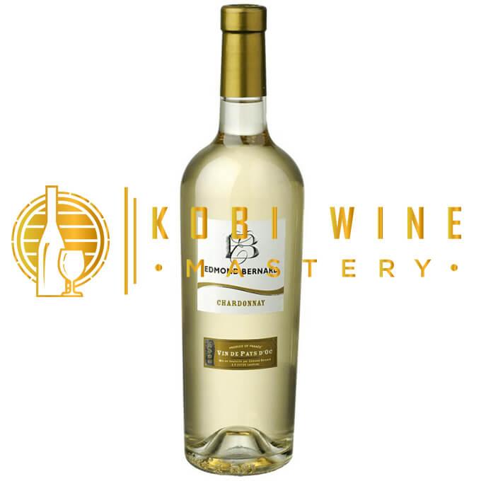 Rượu vang trắng Edmond Bernard Chardonnay