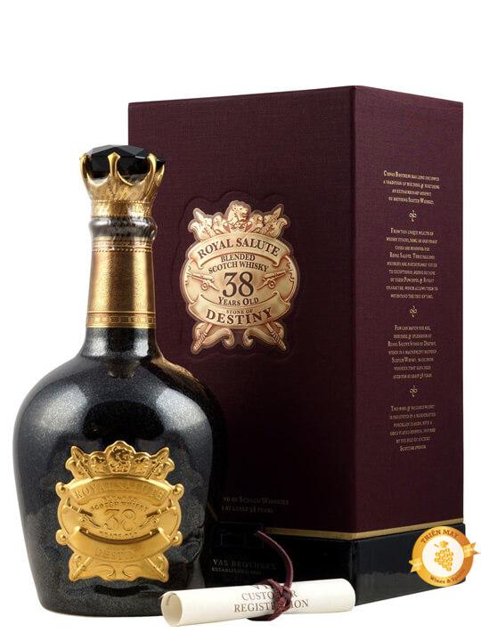 Dòng rượu Chivas 38 thượng hạng nhất