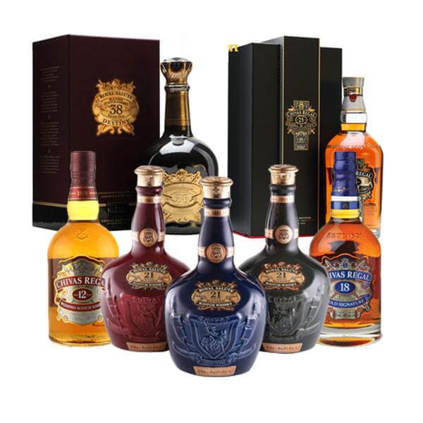 Dòng rượu Chivas 21 hoàng gia