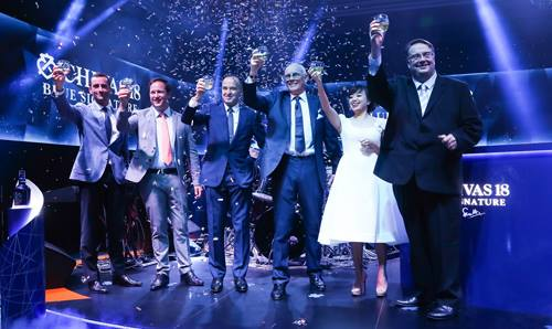 Giải thưởng của Chivas 18 những năm gần đây