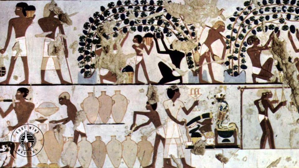 lịch sử phát triển của rượu vang