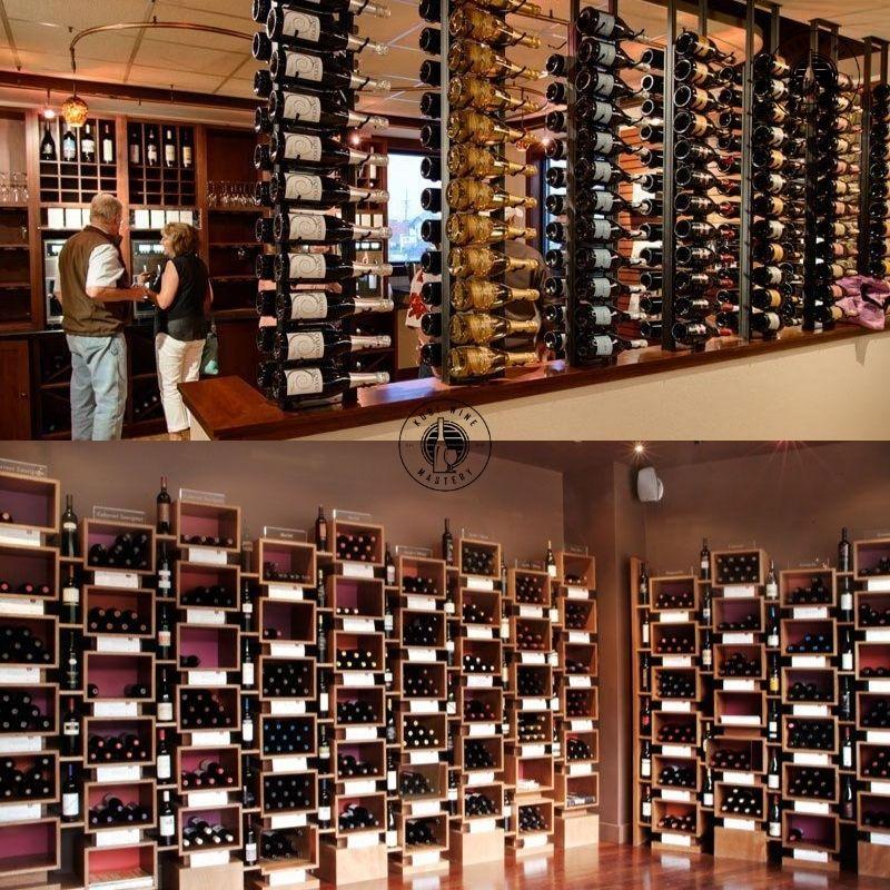 Mẫu tủ rượu vang âm tường đẹp