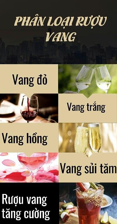 Phân loại rượu vang