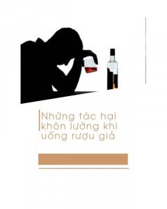 rượu chivas giả gây nguy hại gì