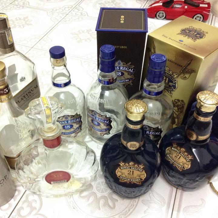 Tình trạng rượu Chivas giả hiện nay